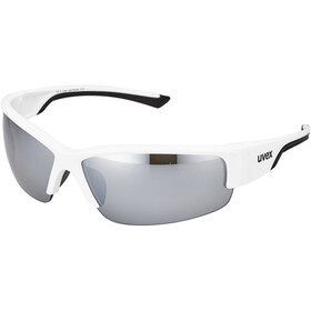 UVEX Sportstyle 215 Glasses white/black/silver